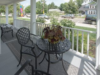 Front porch facing Main Street