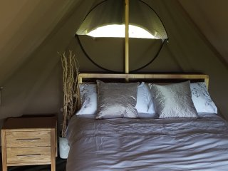 Safari Glamping Tent nr Cockermouth,