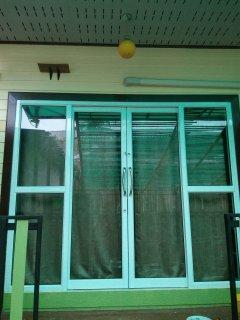 A?C Dorm room entrance
