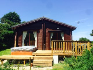Lodge 41 Hartland Forest With private Hot Tub
