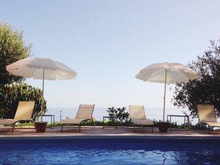 Incantevole villa panoramica con piscina privata, Cefalù