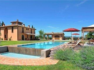 4 bedroom Villa in Montelopio, Tuscany, Italy : ref 2372658