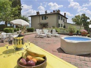 8 bedroom Villa in Borgo San Lorenzo, Tuscany, Italy : ref 2373410