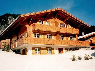 2 bedroom Apartment in Grindelwald, Bernese Oberland, Switzerland : ref 2297273