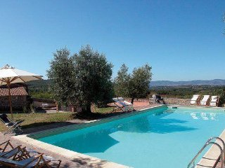 6 bedroom Apartment in Montegabbione, Tuscany, Italy : ref 2373854
