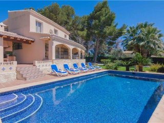 6 bedroom Villa in Teulada, Costa Blanca, Moraira, Spain : ref 2374906, La Llobella