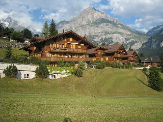 2 bedroom Apartment in Grindelwald, Bernese Oberland, Switzerland : ref 2297258