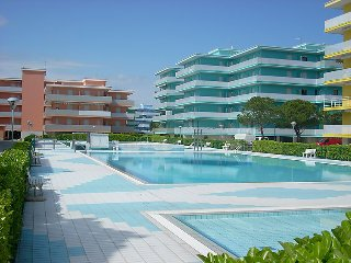 2 bedroom Apartment in Bibione, Veneto, Italy : ref 5456931