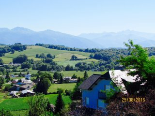Appartement avec Vue Panoramique, Jacuzzi, Sauna, Estialescq