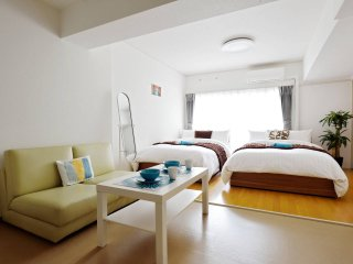 5min Namba Private Apartment, Pocket Wifi