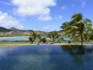 Luxury 6 bedroom St. Barts villa. Panoramic Views!