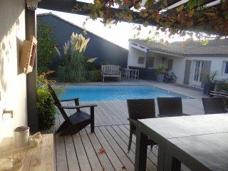 maison avec piscine chauffée, Le Bois-Plage-en-Ré