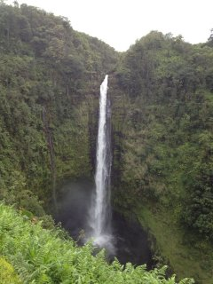 Hamakua Coast Waterfall