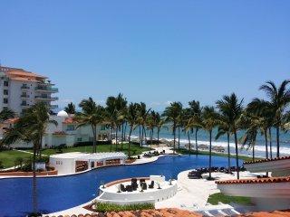 Villa enfrente de la playa