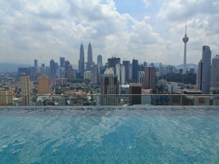 Amazing View KL City w 1BR