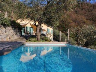 Villa con piscina tra Cinque Terre e Portofino