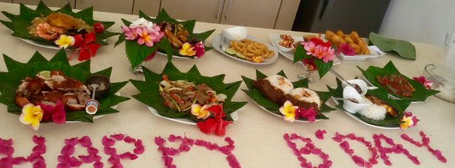 In house traditional feast can be pre booked