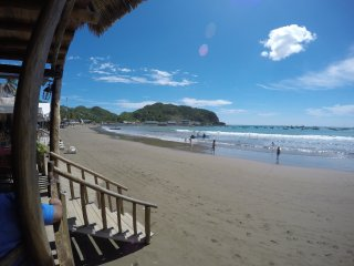Beachfront Condo With Incredible Sea View, Sleeps 6, A/C, WiFi, Balcony, Pool, San Juan del Sur