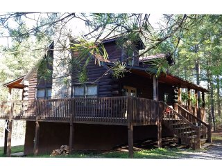 Stonecrest Mountain Retreat- 3 story log cabin, Lake Lure