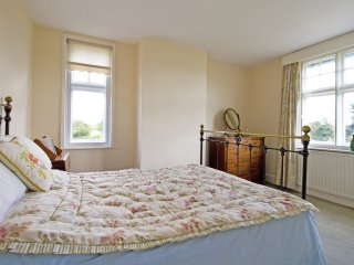 Large double bedroom with lovely rural outlook
