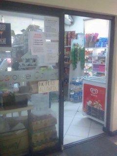 convenience store inside condominium