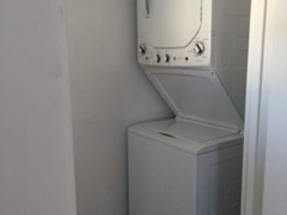 Indoor private washer and dryer for apartment