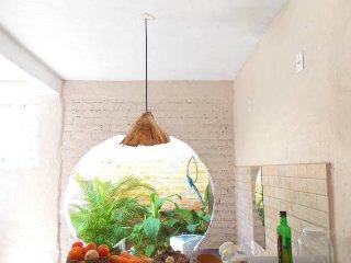 Casa com jardim interno, Velha Boipeba