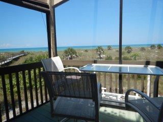 Beachfront Condo with panoramic views of the Gulf, Little Gasparilla Island