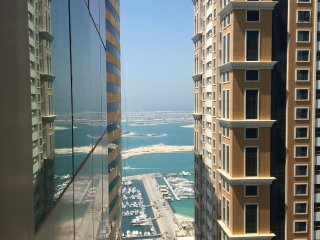 1-bedroom apt in Marina/high floor/palm & sea view, Dubai