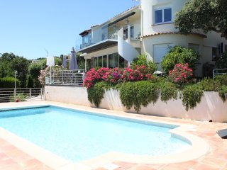 Remy 33877 villa with sea views for 10 people, airconditioning, heated pool., Les Issambres