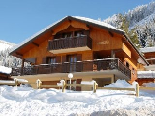 Catered Chalet with Hot Tub central in Chatel