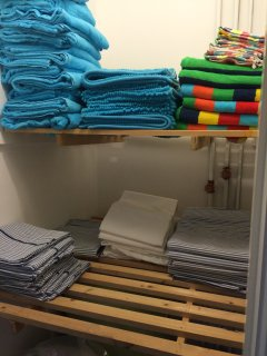 Hot Press - full of linen and towels