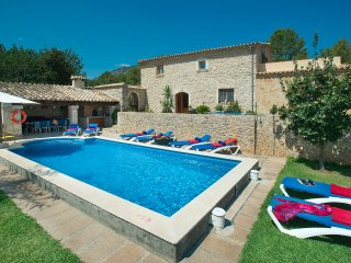 Sunbathe by the Pool in Villa Campet Gran