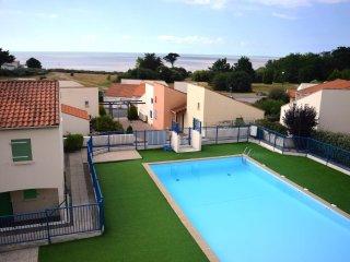 Appartement face mer avec piscine-300 mètres plage, La Bernerie-en-Retz