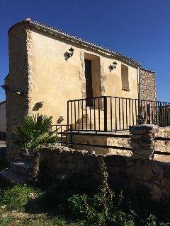 Maison en pierre avec piscine, Blandas
