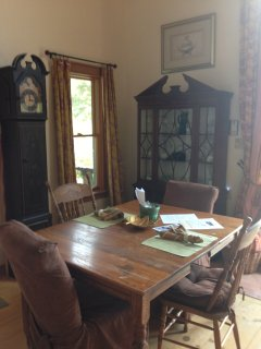 Dining area in great room