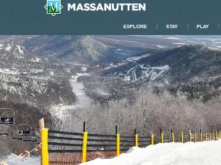 Christmas week at Massanutten Resort! 1 Week ONLY