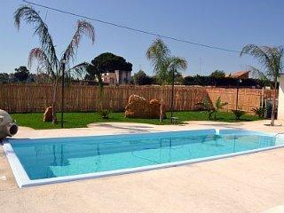 Villa Katiuscia piscina privata clima wifi., Balestrate