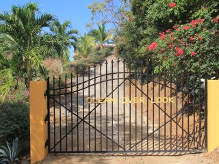 The gate to the house- privacy
