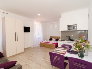 Apartments Gabrieri-Studio with Sea View(4 Adults)