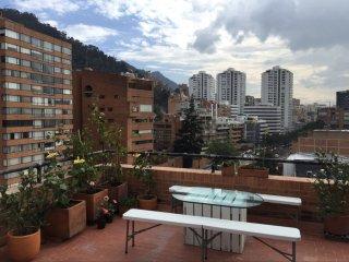 Amazing terrace loft Zona T, Bogotá