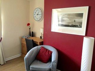 study corner in the lounge