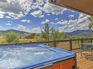 3BR Steamboat Springs Home w/Hot Tub Near Skiing!