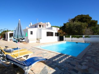 The villa with private pool walking distance to the beaches and the town center