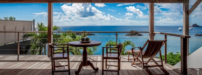 Gustavia Hill - Ideal for Couples and Families, Beautiful Pool and Beach