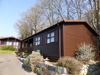 Peaceful Lodge with amazing Sea Views, Osmington Mills