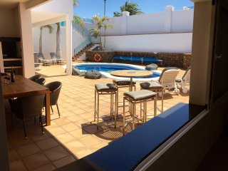 VILLA JOLE, a luxury 4 bed 5 bathroom villa  in Puerto Calero, Lanzarote,