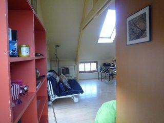Cosy (loft)apartment in monumental wharf house,