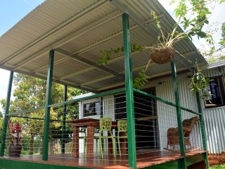 self-contained cabin on Tropical Flower Farm, Mena Creek