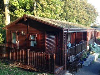 Peaceful Lodge with amazing Sea Views - *** Late availability 1 week 29 July ***